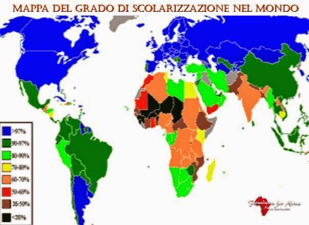 Le Scuole e l'Istruzione in Africa