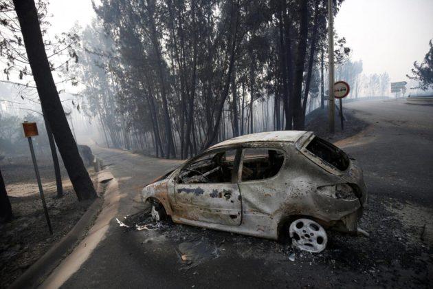 Apocalisse di fuoco in Portogallo. Oltre 60 i morti, ancora 250 i dispersi