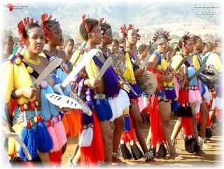 Swaziland, Reed Dance (Umhlamga). Il Re prende moglie